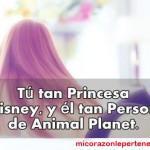 Tu tan Princesa de Disney